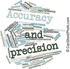 precisión, exactitud