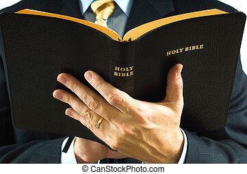 predicador, biblia