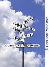 Preguntas y respuestas señal vertical