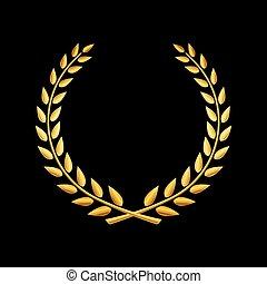Premio Vector de la corona Laurel