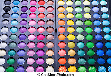 Preparados. Una paleta de visión multicolor profesional