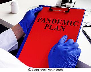 preparedness., plan, doctor, lectura, pandemia