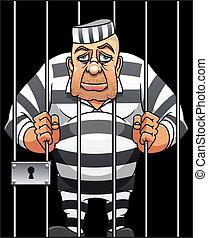 preso, capturado