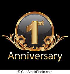 Primer aniversario de celebración