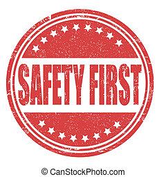 Primer sello de seguridad
