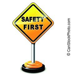 Primera señal de seguridad