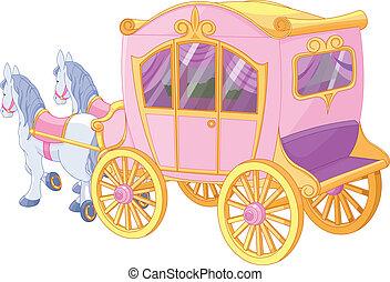 Princesa carruaje