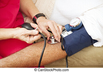 Probando la presión arterial