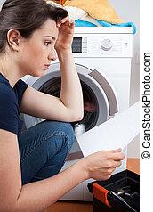 Problemas con la lavadora