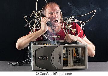 Problemas de computadora