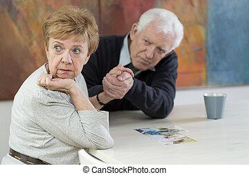 Problemas maritales en la vejez