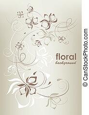 Procedimiento floral, vector