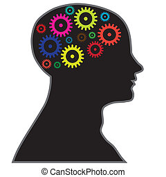 proceso, cerebro, información