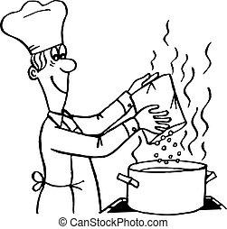 Proceso de cocina