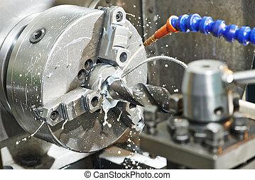Proceso de perforación de metal