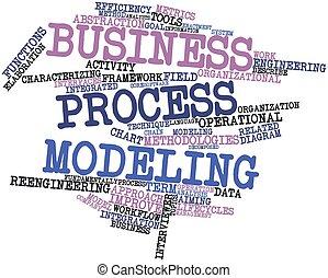 proceso, modelado, empresa / negocio