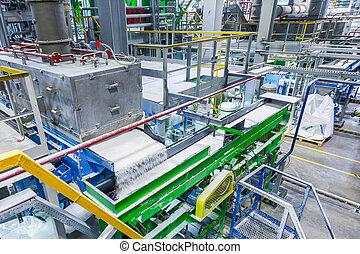 Producción de goma, producción química de goma