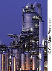 producción química, facilidad