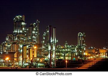 Producción química