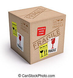 producto, frágil