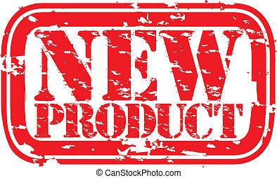 producto, grunge, ve, estampilla, caucho, nuevo