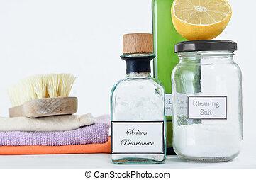 Productos de limpieza no tóxicos