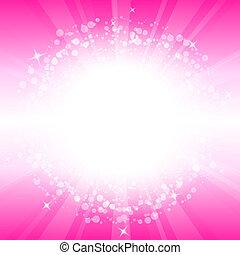 Profesional rosa abstracto del vector
