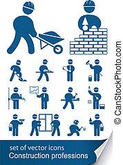 profesiones, construcción