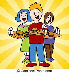 Programa de almuerzo escolar