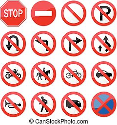 Prohibida señal de parada