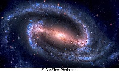 prohibido, constelación, 1300, galaxia, eridanus, ngc, espiral