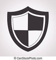 protección, icono