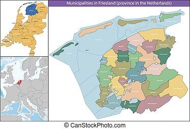 provincia de frisia, países bajos