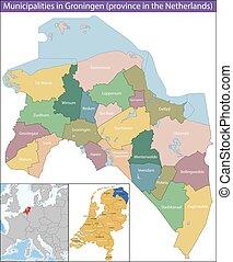 provincia, países bajos, groningen