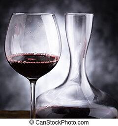 Pruebas de vino tinto