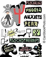 Psicología del concepto Doodle