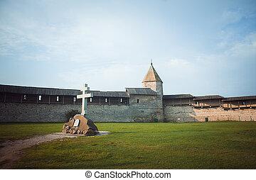Pskov Kremlin, una antigua ciudadela en Rusia