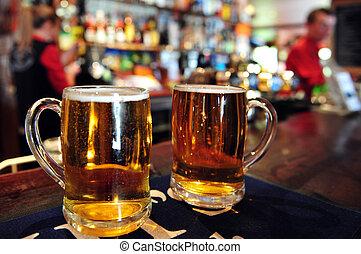 Pub en el nuevo Zealand