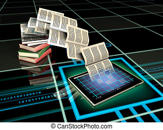 publicación, digital