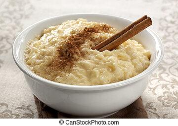 pudding de arroz