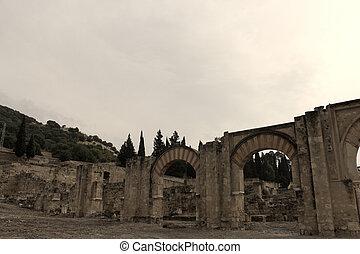 Pueblo histórico abandonado