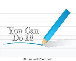 Puedes hacerlo por escrito