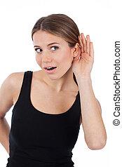 ¡Puedo oírte!