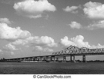 Puente a través del río Mississippi