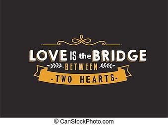 puente, amor