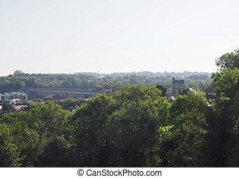 puente, chepstow, ferrocarril
