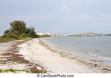 Puente de la isla de Sanibel, Florida