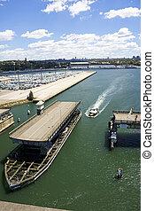 Puente de la isla Glebe, Sydney