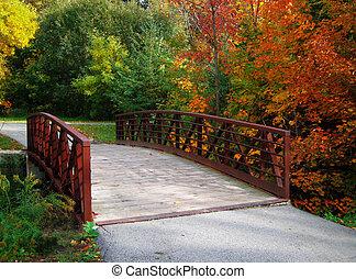 Puente de otoño