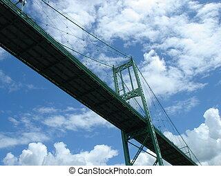 Puente desde abajo